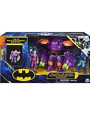 DC Comics, Batman Joker vs. Batman-actiefigurenset van 10 cm met Transformerend Techpak