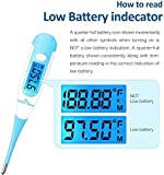 New Easy@Home Digital Basal Thermometer with Blue