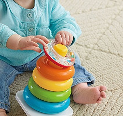 Rock A Stack Wedge Package Toy