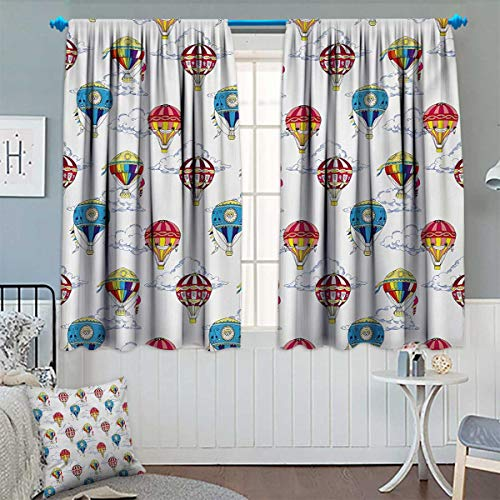 hot air balloon window curtains - 2