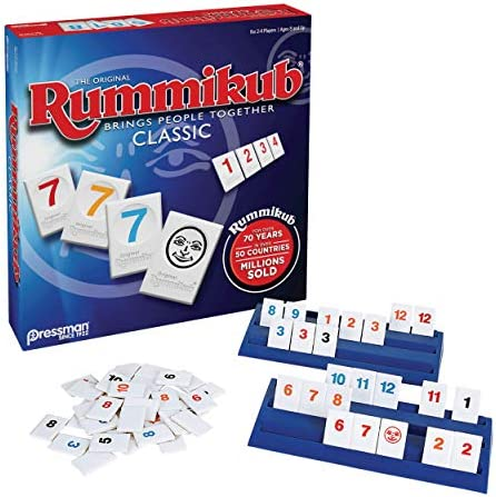 Rummikub The Original Rummy Tile Game Juego De Tejas Paquete De 1 Marrón Toys Games