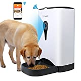 Antblocker with Video/Audio Smart Pet Feeder, Remote Controlled Food Dispenser for Dog or Cat Buildin HD Camera and Audio Communication