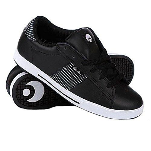 Osiris Skateboard Schuhe-- Serve-- Black/White/Stripes