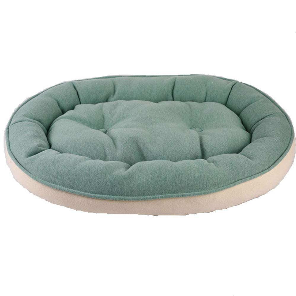 Green Small Green Small Dog Bed Washable Pillow Cushion Soft Four Seasons Available Double Sided Sofa Mat For Small And Medium Cats And Dogs,Green-S