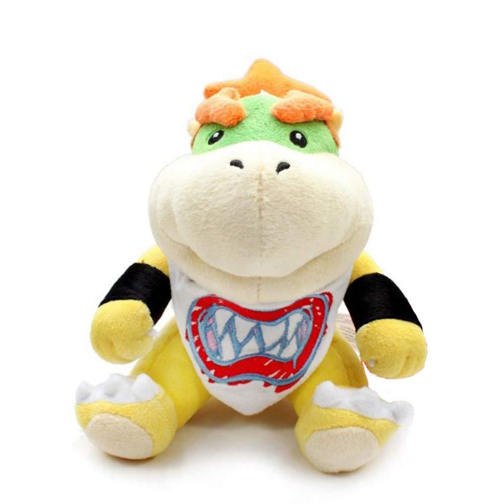 Super Mario bros Plush Toys 18cm Bowser JR Koopa Bowser Dragon Plush Doll Brothers Soft Plush by Eden Fghk