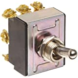 """Morris Products 70302 Toggle Switches, 3 Pole, On/On, 1.09"""" Width, 1.31"""" Length, 0.80"""" Height"""