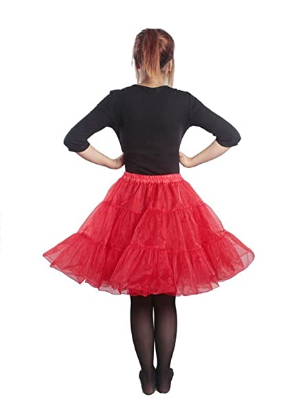 3 LAYER NET LADIES FULL TUTU BRIDAL PROM PARTY UNDERSKIRT 50s petticoat