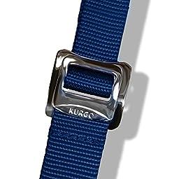 Kurgo Go-Tech Adventure Dog Harness, Medium, Blue - Lifetime Warranty