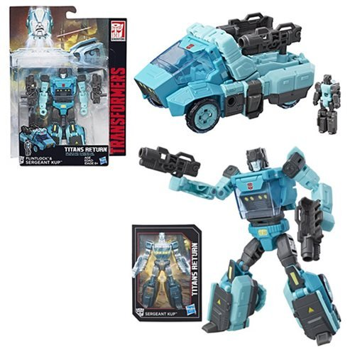 Transformers Generations Titans Return Deluxe Sergeant Kup and Flintlock (Transformers Generations Toys)