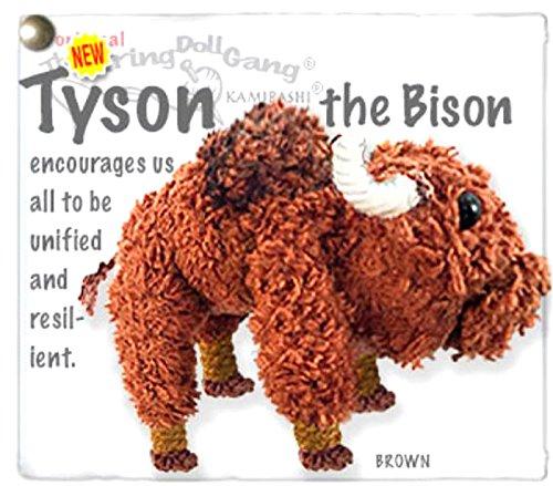 - Kamibashi Tyson The Bison The Original String Doll Gang Keychain Clip