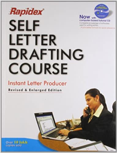 Rapidex Self Letter Drafting Course  Pustak Mahal Editorial Board   9788122300338  Books - Amazon.ca 7b34a5e0ff524
