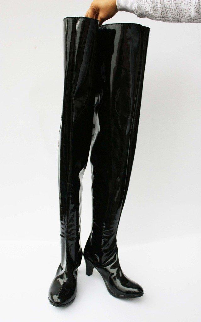 Puella Magi Madoka Magica Homura Akemi Shoes Boots Custom Made Black
