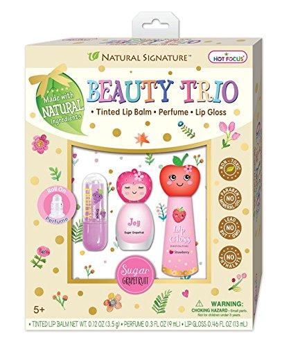 Hot Focus Natural Signature 115FR Beauty Trio Balm Perfume & Gloss Fruit