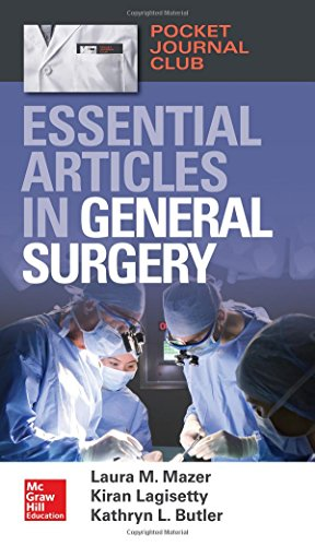 Pocket Journal Club: Essential Articles in General Surgery