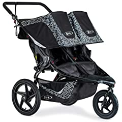Color:Lunar Black With the two seat BOB Revolution Flex 3.0 Duallie Jogging Stroller, you can take both kids on any outing, whether prepping for a 10K or heading to the zoo. Stay safe and be seen during morning runs and evening strolls with t...