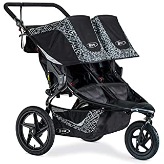 Color:Lunar Black With the two seat BOB Revolution Flex 3.0 Duallie Jogging Stroller, you can take both kids on any outing, whether prepping for a 10K or heading to the zoo. Stay safe and be seen during morning runs and evening strolls with the Lunar...