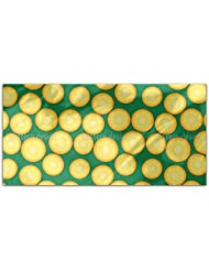 Fresh Pineapples Rectangle Tablecloth Large Dining Room Kitchen Woven Polyester Custom Print