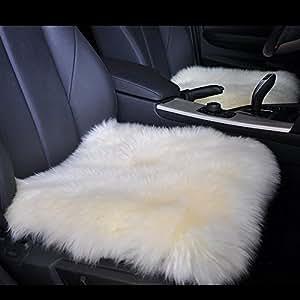 Amazon Com 18 Inch Luxurious Genuine Sheepskin Wool Car