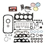 Evergreen Engine Rering Kit FSBRR4034EVE 01-05 Honda Civic 1.7 D17A2 D17A6 Full Gasket Set, Standard Size Main Rod Bearings, Standard Size Piston Rings