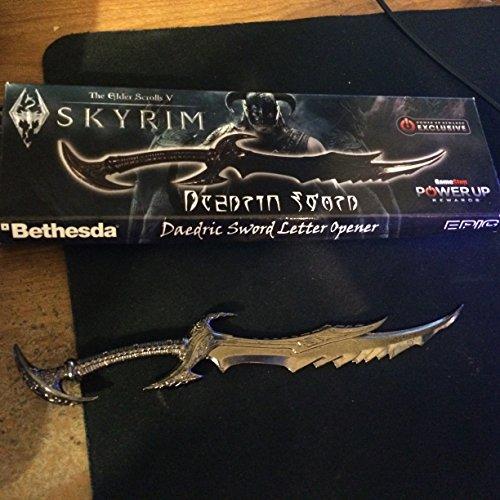Skyrim Daedric Sword Collector s Edition Letter Opener Buy line