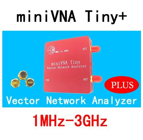 VNA 1M-3GHz Vector Network Analyzer miniVNA Tiny+ VHF/UHF/NFC/RFID RF Antenna Analyzer