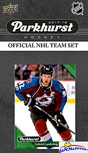 Colorado Avalanche 2017/18 Upper Deck Parkhurst NHL Hockey EXCLUSIVE Limited Edition Factory Sealed 10 Card Team Set including Gabriel Landeskog, Nathan MacKinnon & all the Top Stars & RC's! WOWZZER!