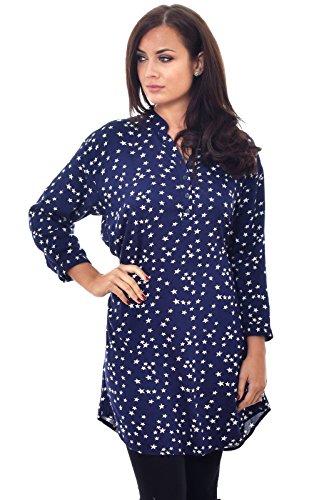 Nightingale Collection - Vestido - para mujer Blue (Stars)
