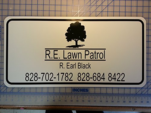 White Car Magnet Sign For Advertising Set of 2