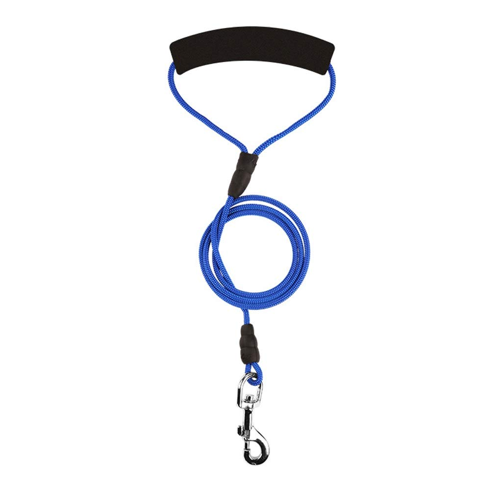 B SmallPet Leash Rope Dog Chain, Internal Wire Material Resistant To Bite, Safety Lock Design, Three colors Optional KGMYGS (color   A, Size   L)