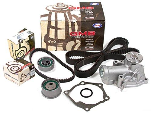 (Evergreen TBK167LWP Fits 03-07 Mitsubishi Lancer Evo VIII IX TURBO 2.0L 4G63T Timing Belt Kit GMB Water Pump)