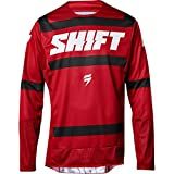 2018 Shift Black Label Strike Jersey-Dark Red-M