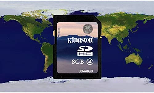 Lightinthebox® Western Europe KUDOS GPS Mapa de Tarjeta, con Tarjeta SD de 4/8G estándar para Coche Reproductor de DVD, Sistema de GPS: Amazon.es: Electrónica