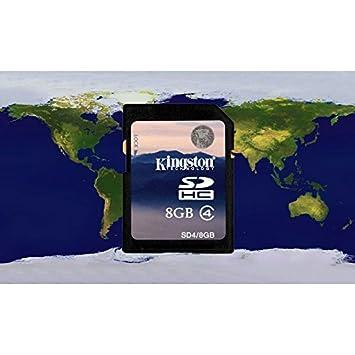 Kudos 8 GB GPS estándar tarjeta SD con mapas de Australia ...