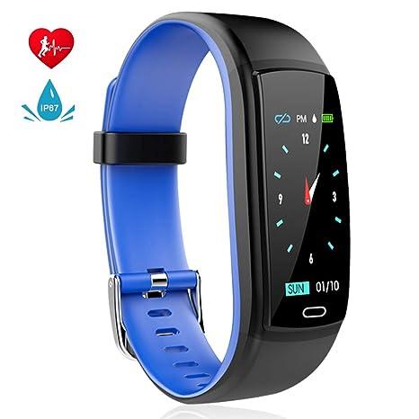 MINLUK Fitness Tracker, Pulsera Fitness Impermeable, notificación ...