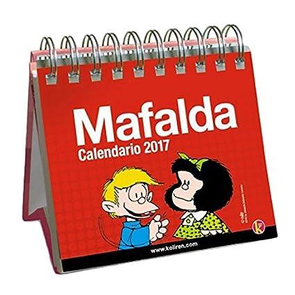 Ediciones Granica Calendario De Mesa Mafalda 2017 - Calendario de mesa 2017
