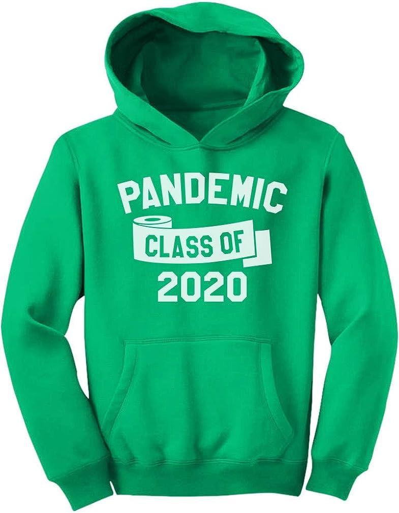 Tstars Class of 2020 Quarantine Sweatshirt Funny Graduation Youth Hoodie