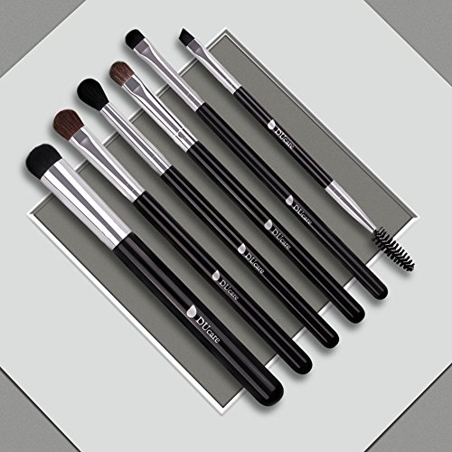 DUcare Eye Makeup Brushes 6Pcs Eyeshadow Brush Set Blending Brushes Eyeliner Brush Eye Makeup Brushes Set