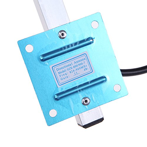 XHTECH 11dBi 824-960MHz GSM CDMA Outdoor Yagi Antenna for Cell Phone Signal Booster by XHTECH (Image #6)