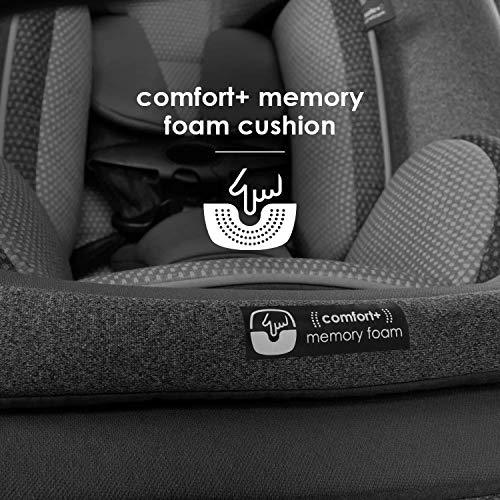 51H5zrEu05L - Diono Radian 3QXT 4-in-1 Rear And Forward Facing Convertible Car Seat, Safe Plus Engineering, 4 Stage Infant Protection, 10 Years 1 Car Seat, Slim Design - Fits 3 Across, Gray Slate