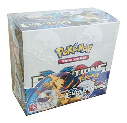 Pokemon Evolutions XY sealed unopened booster box 36 packs of 10 cards IN STOCK Whats Hot - Box Booster 36ct