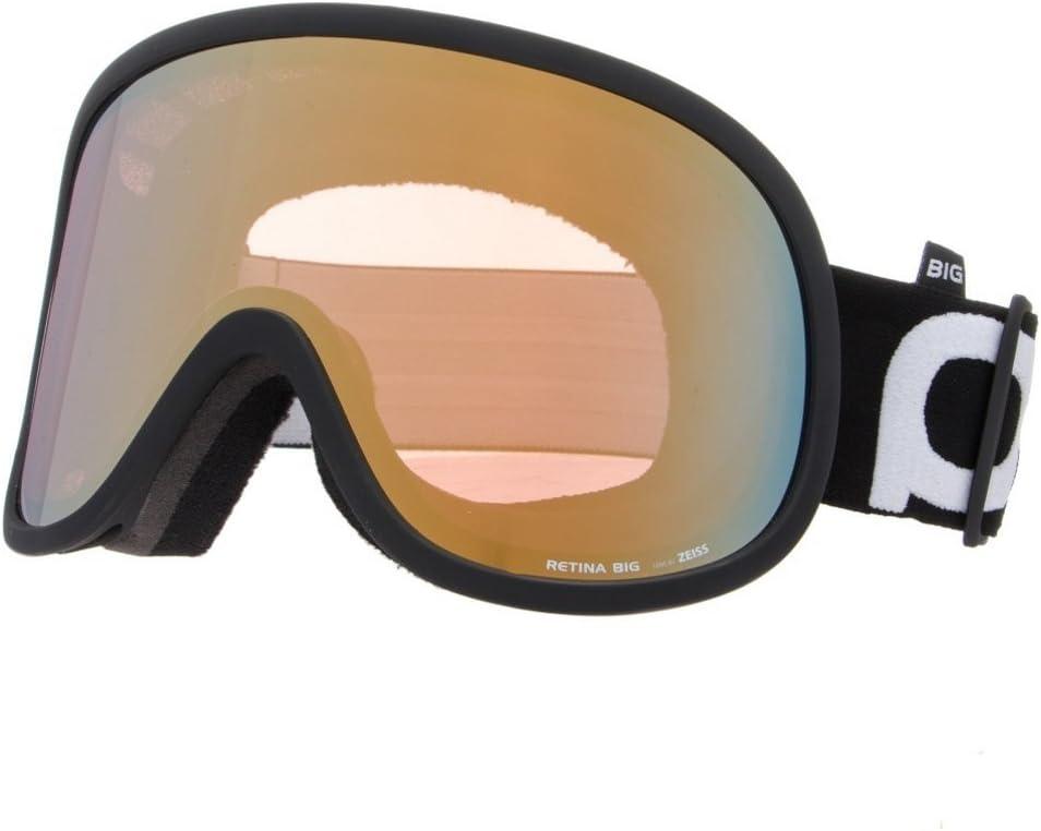 POC Retina BIG Ski Goggles, Uranium 黒, One Size by POC