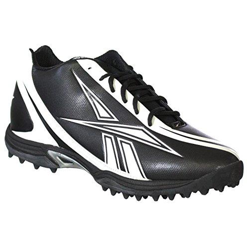 BURNER QUAG REEBOK amp; FOOTBALL BLACK WHITE 8 5 5 12 MENS PRO SPEED CLEATS 4RXgR5
