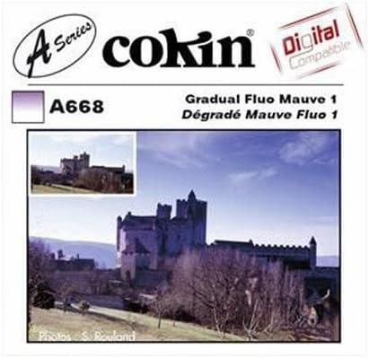 Graduated Fluorescent Mauve Filter A-Series Hard Edge Cokin A668 M1 2-Stops