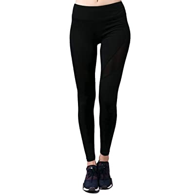 Selighting Running Yoga Pants Printed Capri Leggings for Women Workout Gym Sports