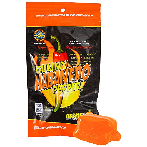 SPICY GUMMY PEPPERS - 3 Pack