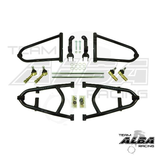 Adjustable Long Travel +2 A-Arms for Raptor 700 Raptor 700R