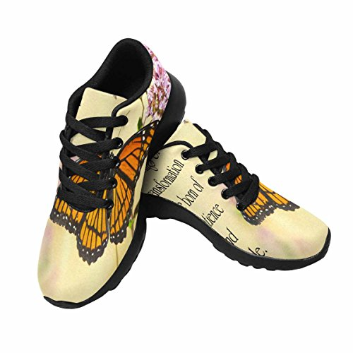 InterestPrint Womens Jogging Running Sneaker Lightweight Go Easy Walking Comfort Sports Running Shoes Multi 8 VEdjuhL