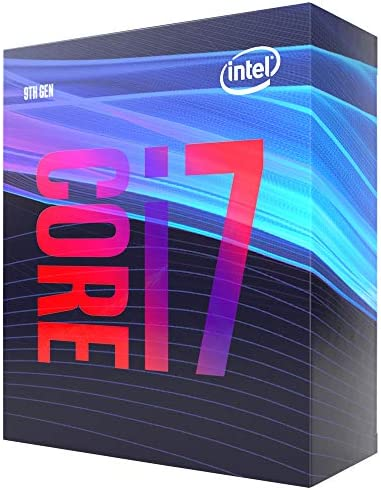 Intel Core i7-9700 Desktop Processor 8 Cores as much as 4.7 GHz LGA1151 300 Series 65W