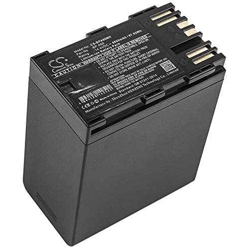 XPS Replacement Battery for Canon CA-CP200L, EOS C200, EOS C200 PL Part NO BP-A60 by Xsplendor