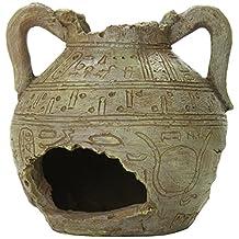 Aquatic Creations Ancient Vase 3 Ornament for Aquarium